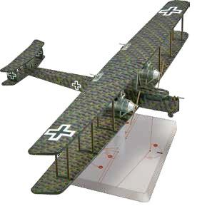 Wings Of Glory WWI Miniatures: Zeppelin Staaken R.VI (Schilling)