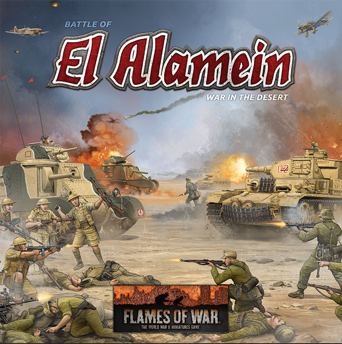 El Alamein Box (Desert War Starter Set)
