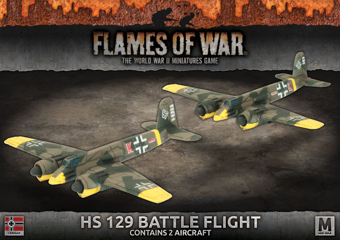 HS 129 Battle Flight (x2)