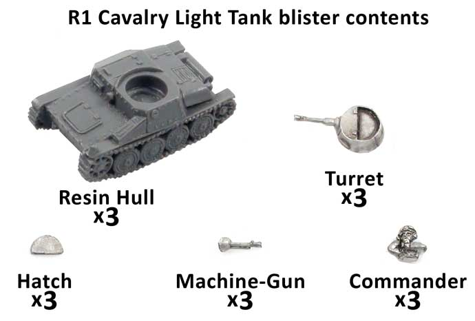 R1 Cavalry light Tank
