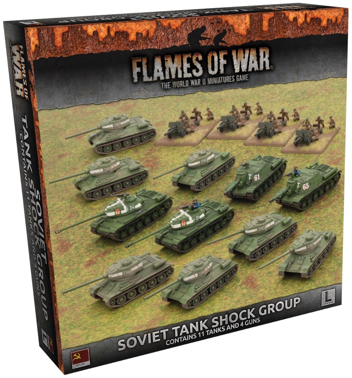 Soviet Tank Shock Group (Late War Army Box)