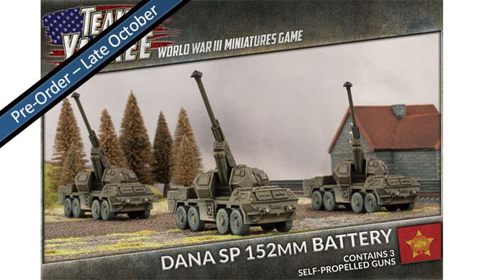 DANA SP 152mm (x3)