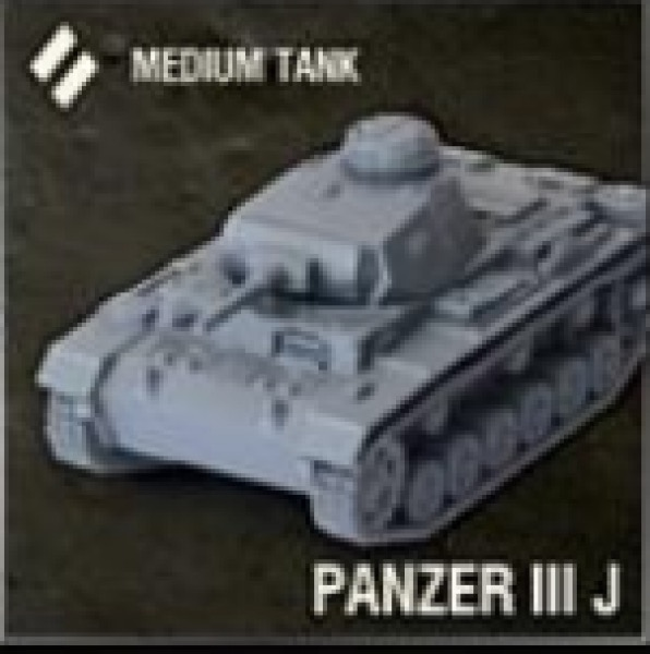 World of Tanks: German Tank - Panzer III J