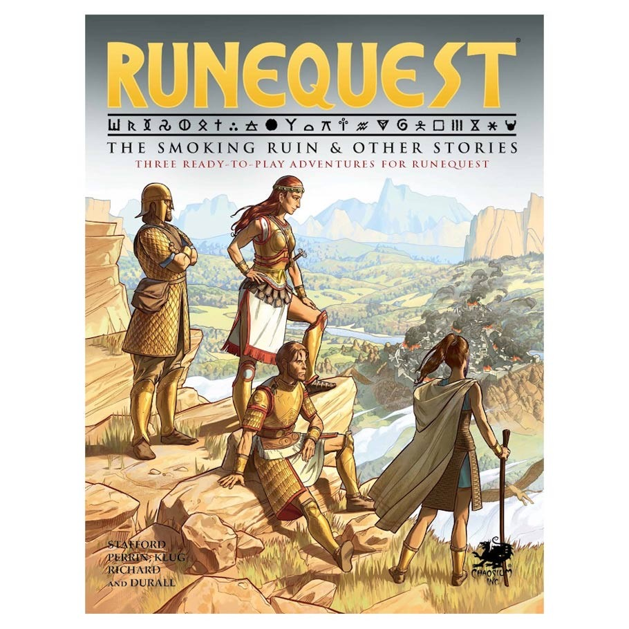 Runequest: The Smoking Ruin