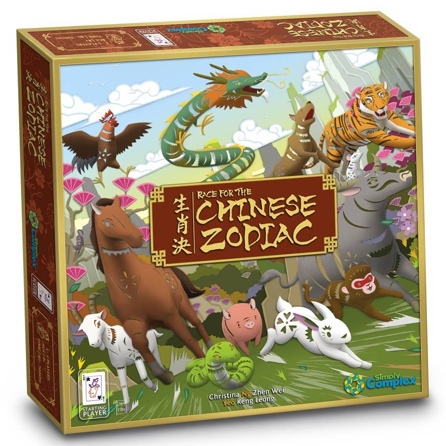 Race for the Chinese Zodiac