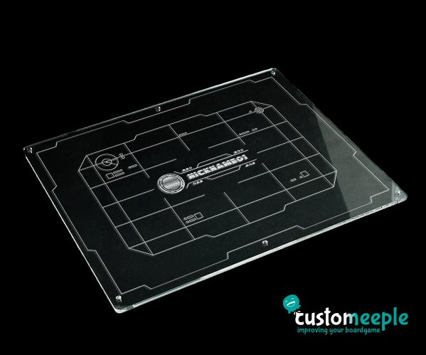 X-Wing 2.0: Xwing compatible template tray LID