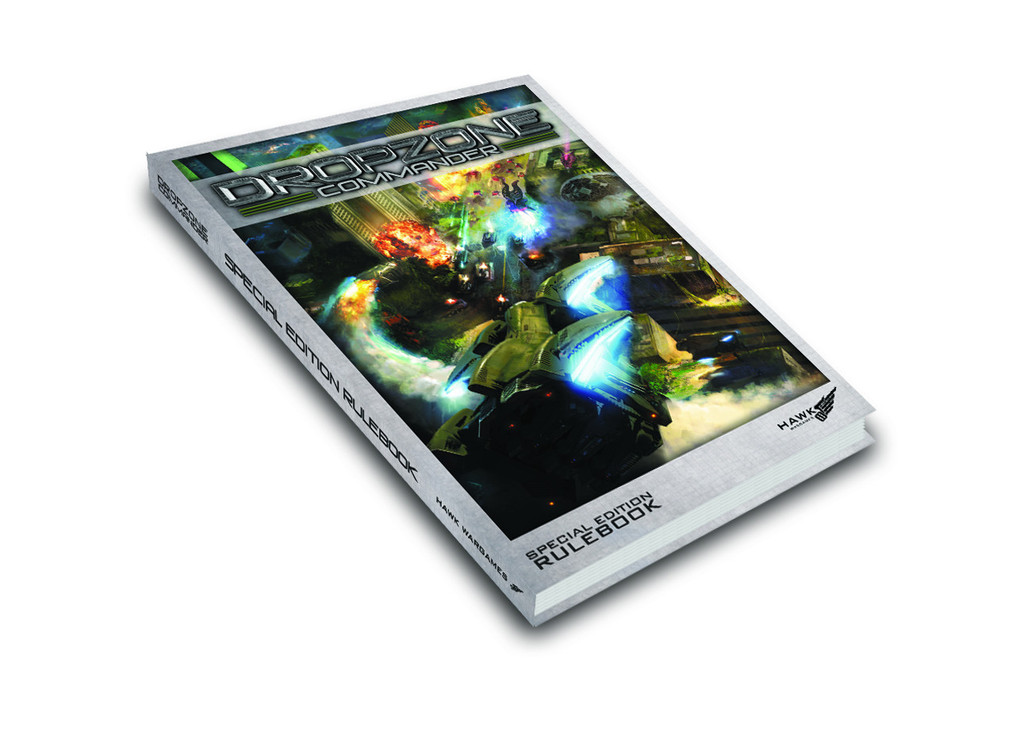 Dropzone Commander Limited Edition Hardback Rulebook