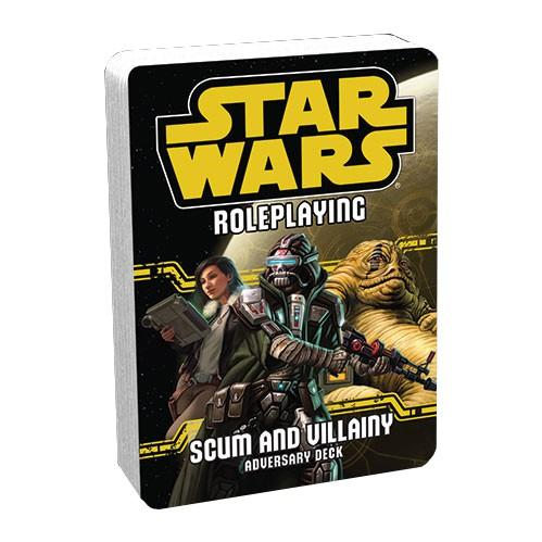 Star Wars RPG: Scum and Villiany Adversary Deck