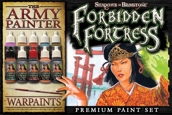 Shadows Of Brimstone: Forbidden Fortress Paint Set