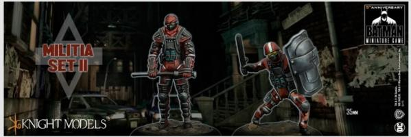 Batman Miniature Game: MILITIA SET II