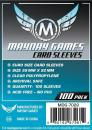Euro Game Card Sleeves (100) 59mm x 92mm
