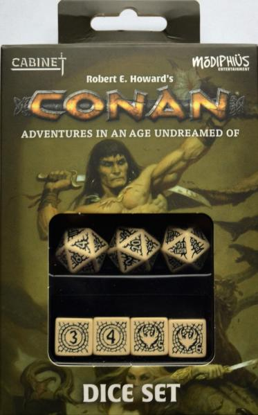 Conan RPG: Conan Dice Set