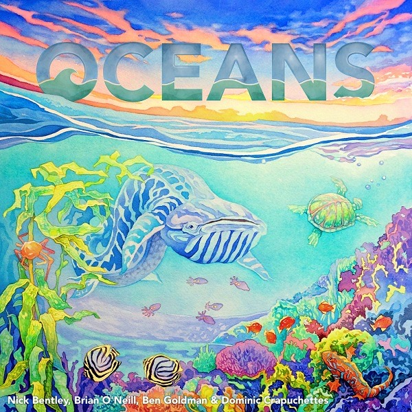 Oceans Board Game Kickstarter Edition