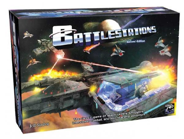 Battlestations 2nd Edition Board Game