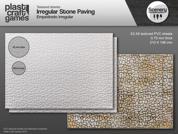 28mm Scenery Compliments: Irregular Stone Paving