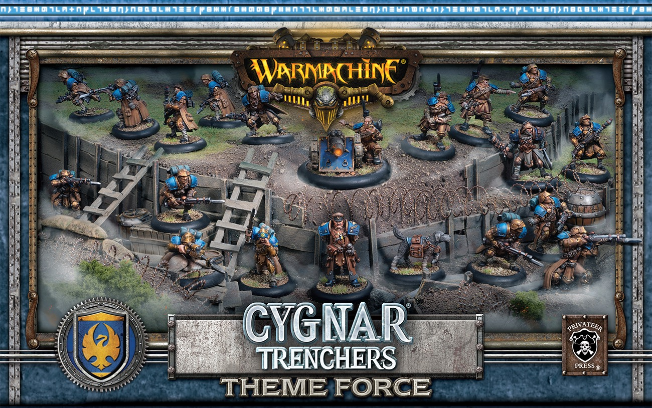 Cygnar Cygnar Cygnar Trencher Force Box Privateer Press 3604da