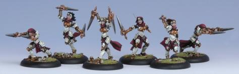 Daughters of the Flame - Protectorate Flameguard Unit