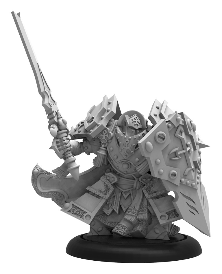 Exemplar Cinerator Officer - Protectorate Command Attachment (metal/resin)