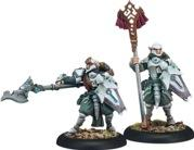 Houseguard Halberdier Officer & Standard - Retribution Unit Attachment