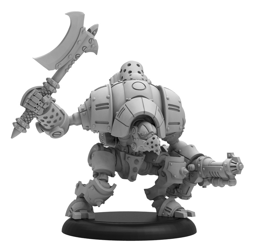 Retaliator - Crucible Guard Light Warjack (metal/resin)