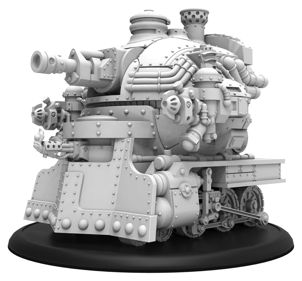 Railless Interceptor - Crucible Guard Battle Engine (metal/resin)