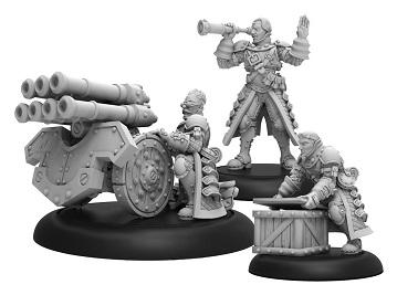 Steelhead Volley Gun Crew - Mercenary Unit (metal/resin)