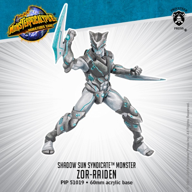Zor-Raiden - Shadow Syndicate Monster (metal/resin)
