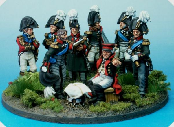 28mm Napoleonic: Prussian High Command