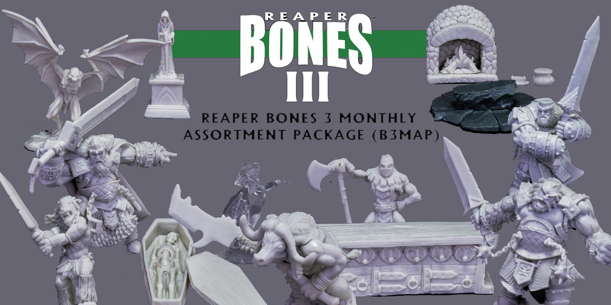 April Bones 3 - Monthly Assortment Pack