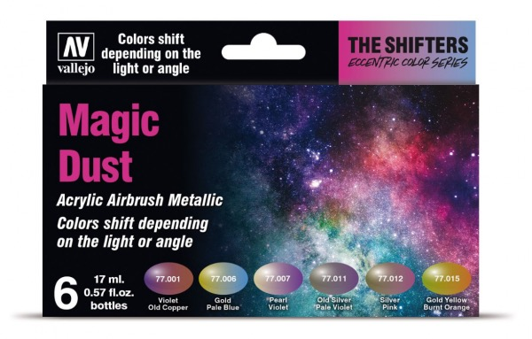 Colorshift Airbrush Colors: Magic Dust