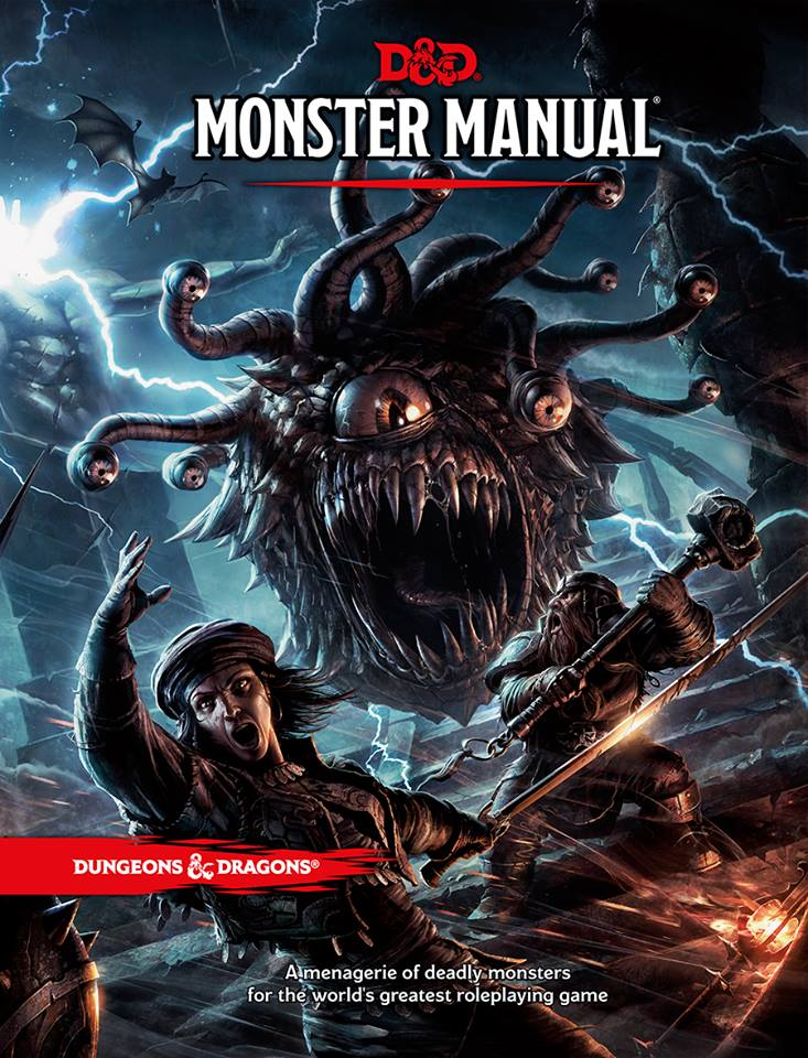 D&D Monster Manual (5th Edition)