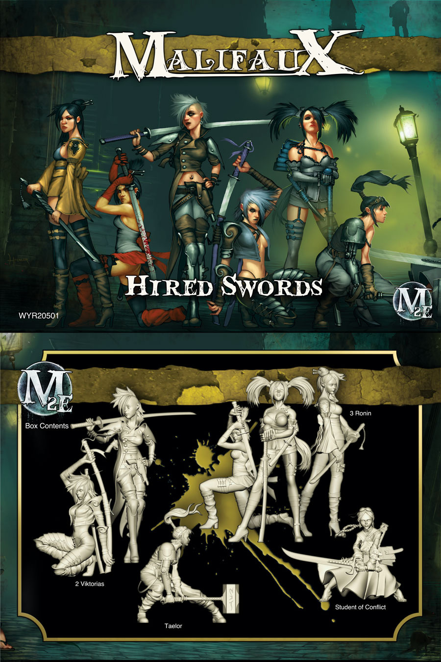 Hired Swords (The Viktorias)