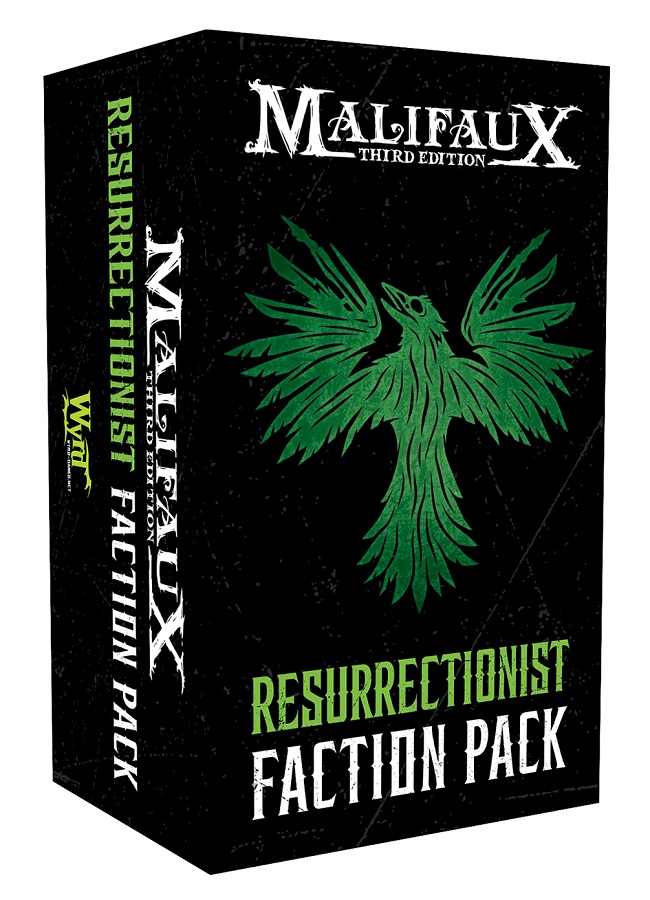 Ressurectionist 3rd Edition Faction Pack